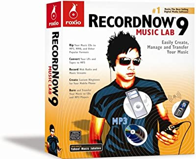 Recordnow 9 Music Lab
