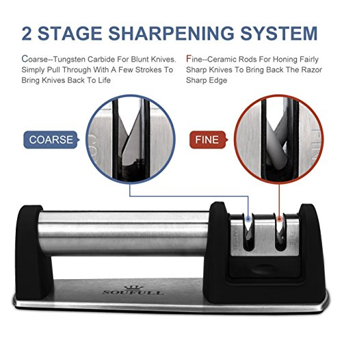 Professional-Knife-Sharpener-Soufull-2-Stage-Diamond-Coated-Sharpening-with-Ceramic-Rod-Non-slip-Base-Sharpening-Knife-Easy-to-Control-Knife-Sharpening