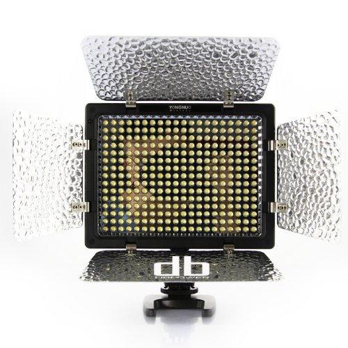 Pro Yongnuo LED Video Light Flash YN300  With 300pcs Lamps,