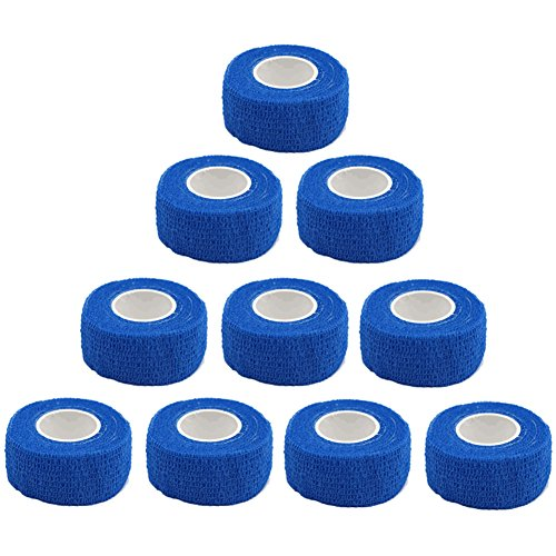 GooGou Self Adhesive Bandage Finger Tape Rolls Non-woven Ventilate Flexible Wrap for (Bandages Finger Wrap)