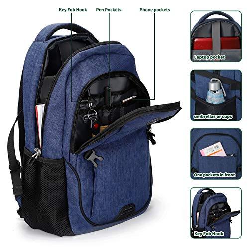 SHRRADOO Anti Theft Laptop Backpack Travel Backpacks Bookbag with usb Charging Port for Women & Men School College…