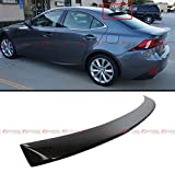 (US) FOR 2014-2016 LEXUS IS250 IS350 IS200t VIP STYLE CARBON FIBER REAR ROOF TOP WINDOW SPOILER WING