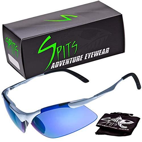 Spits Eyewear Laser Metal Frame Premium Sunglasses, Various