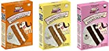Puppy Cake 3 Pack Variety (Cake Mix and Frosting) Dog Snacks, Dog Treats, 1-Peanut Butter, 1- Banana, and 1-Carob Cake Mix (Fast Free Delivery)