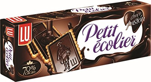 Petit Ecolier - Galletas De Mantequilla Chocolate Negro 70% Cacao, 150 g: Amazon.es: Alimentación y bebidas