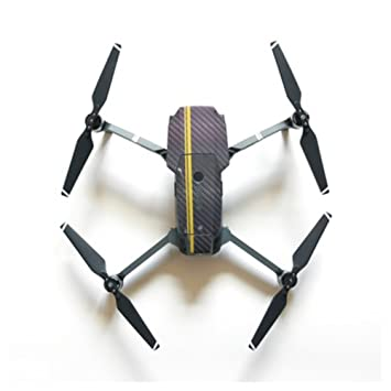 OULII Etiqueta engomada auta-adhesivo fuselaje Drone cubierta piel ...