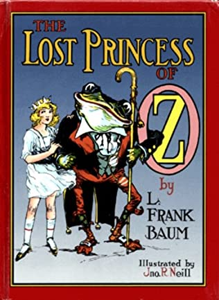 book cover of The Lost Princess of Oz