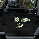 MLB Oakland Athletics 12 Magnet Sheet, Green