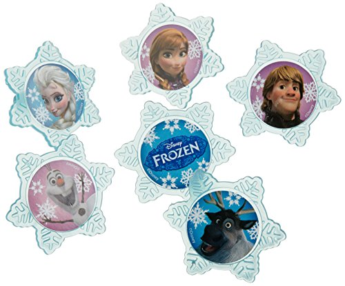A Birthday Place Disney's Frozen 12 Count Cupcake Rings, -
