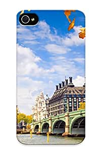 New Fashionable Runandjump LUy239fKnBN Cover Case Specially Made For Iphone 4/4s(london Great Britain England Westminster Palace Autumn )