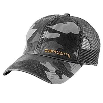 Carhartt Gorra Brandt Gris Camuflaje Baseball Cap Sombrero Gorras: Amazon.es: Ropa y accesorios