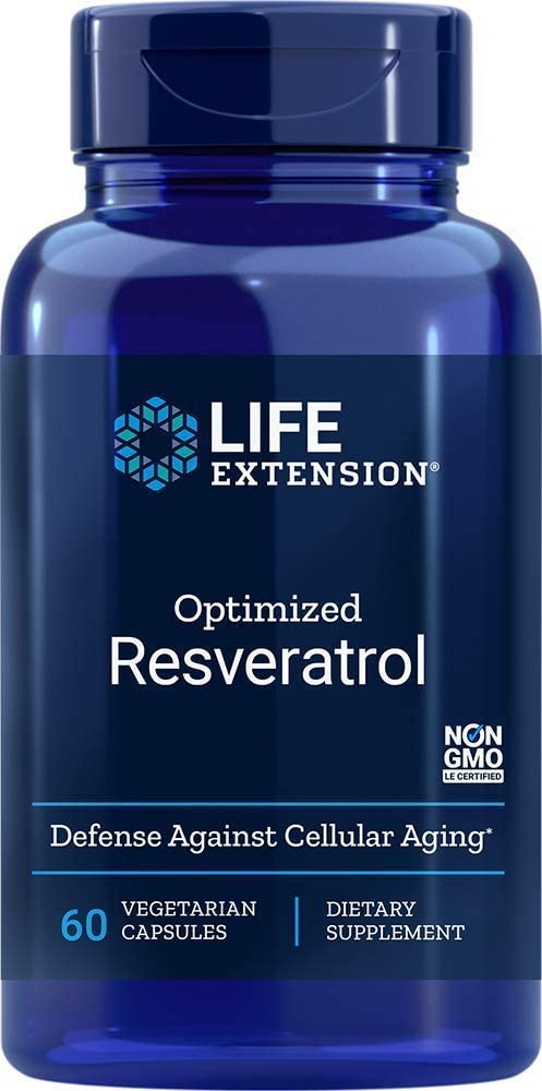 Life Extension Optimized Resveratrol, 60 Count