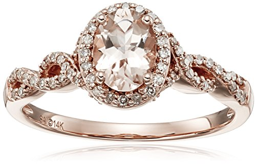 Morganite Diamond 4cttw Color Clarity