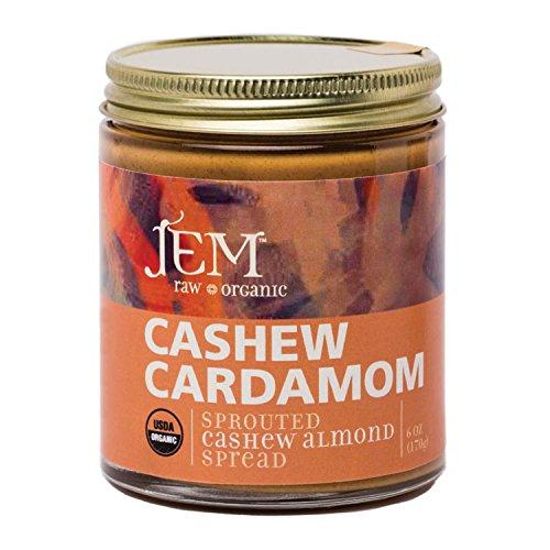 Jem Raw, Vegan, Organic Cashew Cardamon Butter Spread 6