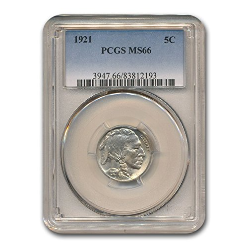 1921 Buffalo Nickel MS-66 PCGS Nickel MS-66 PCGS