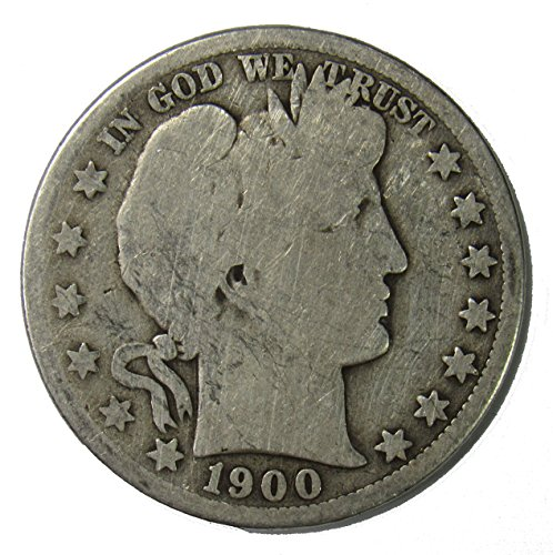 1900 O Silver Barber Half Dollar 50c Very Good ()