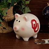 NCAA The University of Oklahoma Official Team Piggy Bank, Multicolor, One Size