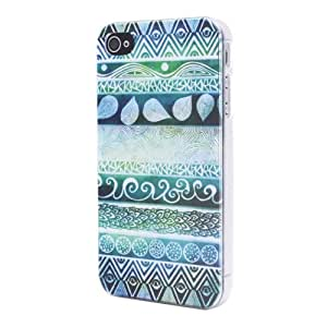 Highmall Tribal mural Hard Back Case Cover Shell for iPhone 4 4S