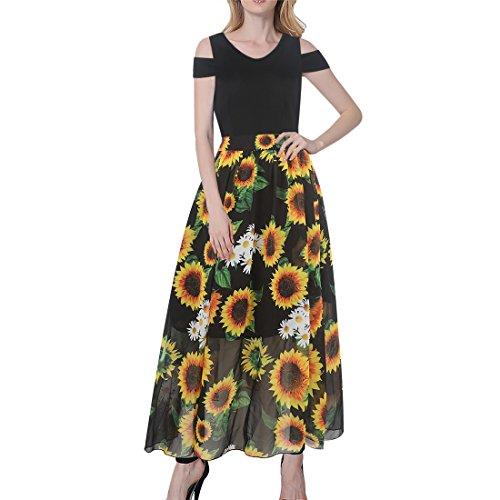 full skirt shirtwaist dress - 2