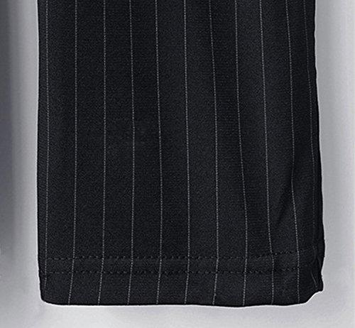 Pantalón Verano Harem Mujer Cómodo Pantalones A Rayas Talla Extra Con Bolsillos Rayas