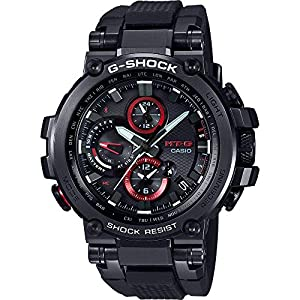 Casio Reloj Digital para Hombre de Cuarzo con Correa en Resina MTG-B1000B-1AER 7