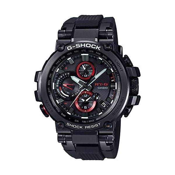 Casio Reloj Digital para Hombre de Cuarzo con Correa en Resina MTG-B1000B-1AER 2