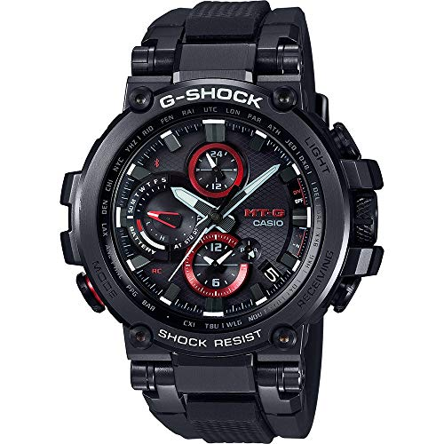 Casio Reloj Digital para Hombre de Cuarzo con Correa en Resina MTG-B1000B-1AER 1