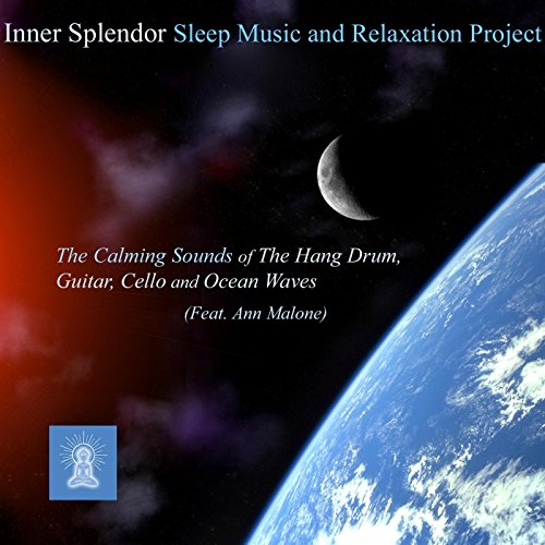 The Calming Sounds of the Hang Drum, Guitar, Cello and Ocean Waves (Best Calming Music For Sleep)