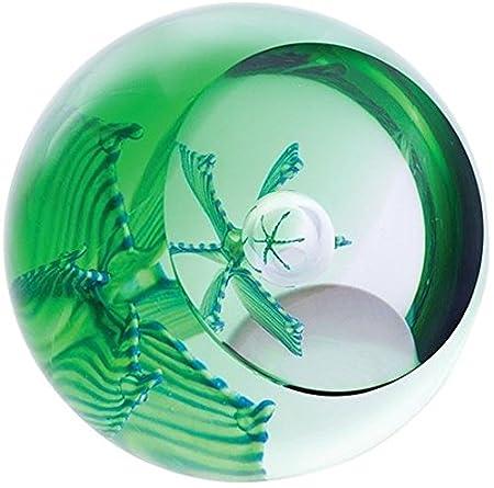 Caithness Glass Emerald Paperweight