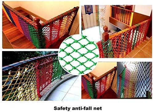 Balcón Al Aire Libre Escaleras Protección Red Cuerda Productos Netos Jardín Jardín Parque de Atracciones Decoración