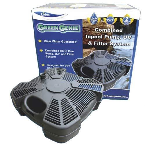 Lotus Green Genie 9000 Inpool Pump 2400Ltrs, Filter & Uvc 9 Watt