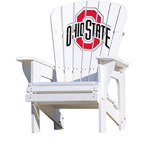 NCAA Adirondack Chair by Key Largo Adirondack - Ohio State Buckeyes (Lounge Chair Largo)