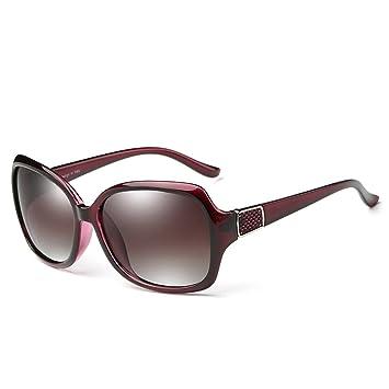 Gafas de sol polarizadas Wayfarer Mujer Calle Clásico de la Moda Elegante UV400 Retro 60mm (