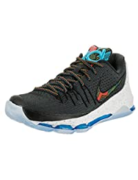 Nike Men's KD 8 BHM Black/Multi-Color Basketball Shoe 10 Men US