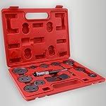 Dtemple 12pcs Universal Tools Piston Pad Disc Brake Caliper Wind Back Kit for Automobiles Trucks/Cars Vehicle Tools Car repair