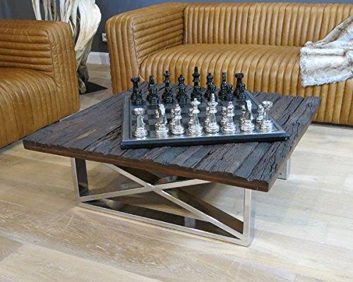 Schon Vintage Wohnzimmertisch Couchtisch Tisch Schwemmholz Treibholz Möbel Maison  Chrom Deko (100x37x100cm) Bestellen