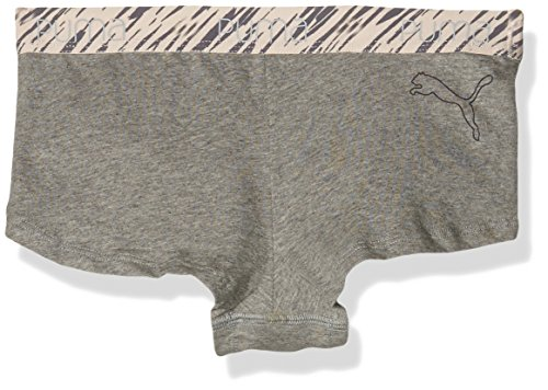 Puma Unterhose Triangle Mini pantalones cortos 2P Gris / Negro