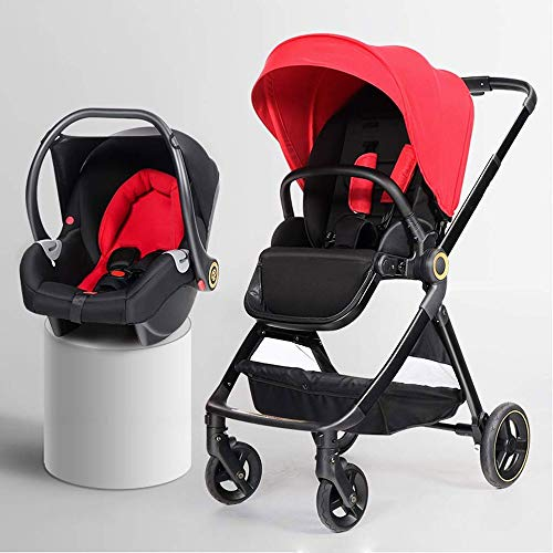 YTPB Convertible Stroller Compact Single Baby Carriage Toddler Seat Stroller, Convenience Stroller Folding Stroller with…