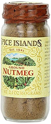 Spice Islands Ground Nutmeg 2.1 Oz (1-pack) - Nutmeg Spice