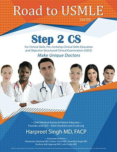 Download Road to USMLE, Step 2 CS PDF