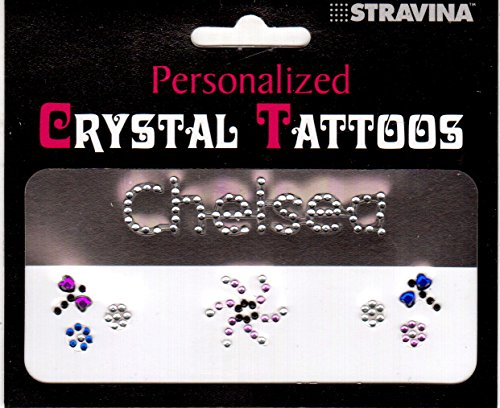 CHELSEA Personalized Crystal Tattoos