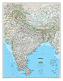 India Classic, laminated : Wall Maps Countries & Regions (Reference - Countries & Regions)