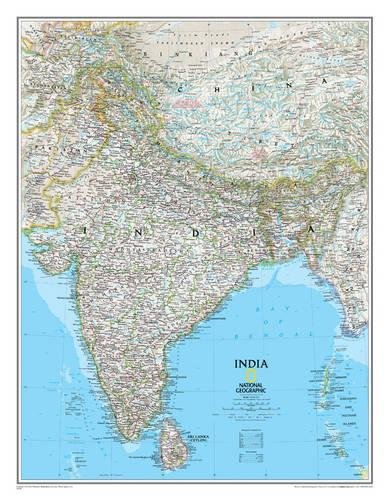India Classic [Laminated] (National Geographic Reference (India Classic Collection)