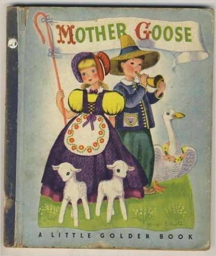 Mother Goose (1942) (Book) written by Phyllis Fraser; illustrated by Gertrude E. Espenscheid