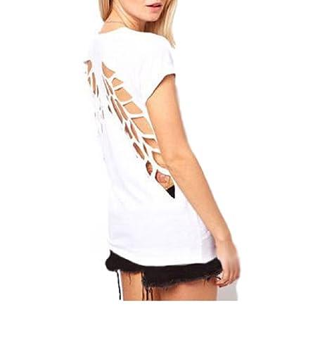 Ducomi - Camiseta - para mujer