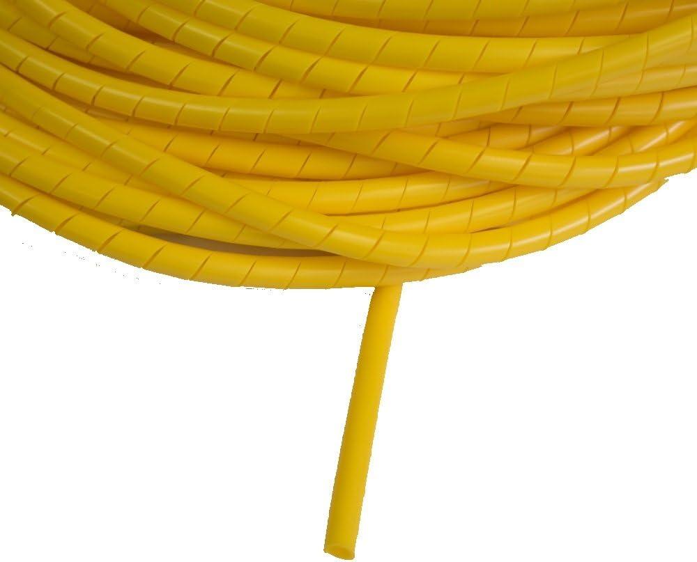 /20/mm Amarillo Banda de espiral 5/m 5/