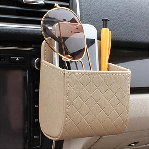 UNKE Car Piece Holder Box Glasses Mobile Phone Holder Box Support Removable Liner
