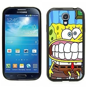 Samsung Galaxy S4 SIIII Black Rubber Silicone Case - Sponge Bob Square Pants Spongebob Squarepants
