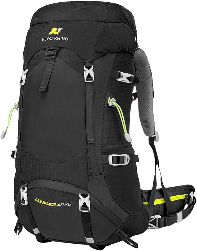 NEVO Rhino Hiking Backpack, Internal Frame Hiking Backpack 50L