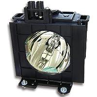Panasonic Compatible ETLAD55, ET-LAD55, PT-D5500, PT-D5500E, PT-D5500U, PT-D5500UL, PT-D5600, PT-D5600U, PT-D5600UL, PT-DW5000, PT-DW5000E, PT-DW5000L, PT-DW5000U, PT-DW5000UL, PT-L5500, PT-L5600, TH-D5500, TH-D5500L, TH-D5600, TH-D5600L, TH-DW5000, TH-DW5000L Projector Lamp with Housing